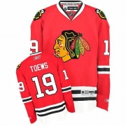 Jonathan Toews Chicago Blackhawks Reebok Youth Authentic Home Jersey - Red