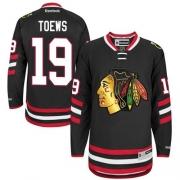 Jonathan Toews Chicago Blackhawks Reebok Youth Authentic 2014 Stadium Series Jersey - Black