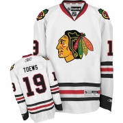 Jonathan Toews Chicago Blackhawks Reebok Youth Authentic Away Jersey - White