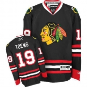 Jonathan Toews Chicago Blackhawks Reebok Youth Authentic Third Jersey - Black