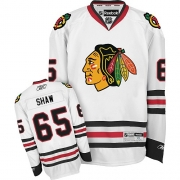 Andrew Shaw Chicago Blackhawks Reebok Youth Authentic Away Jersey - White