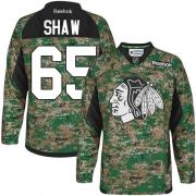 Andrew Shaw Chicago Blackhawks Reebok Youth Premier Veterans Day Practice Jersey - Camo
