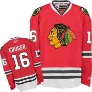 Marcus Kruger Chicago Blackhawks Reebok Men's Premier Home Jersey - Red