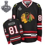 Marian Hossa Chicago Blackhawks Reebok Men's Authentic Third Stanley Cup Finals Jersey - Black
