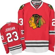 Michael Jordan Chicago Blackhawks Reebok Men's Premier Home Jersey - Red