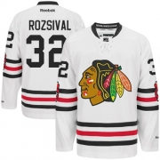 Michal Rozsival Chicago Blackhawks Reebok Men's Authentic 2015 Winter Classic Jersey - White