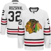 Michal Rozsival Chicago Blackhawks Reebok Men's Premier 2015 Winter Classic Jersey - White