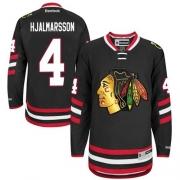 Niklas Hjalmarsson Chicago Blackhawks Reebok Men's Premier 2014 Stadium Series Jersey - Black