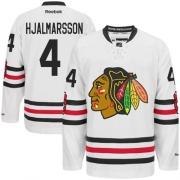 Niklas Hjalmarsson Chicago Blackhawks Reebok Men's Premier 2015 Winter Classic Jersey - White