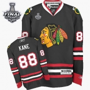 Patrick Kane Chicago Blackhawks Reebok Men's Authentic Third Stanley Cup Finals Jersey - Black