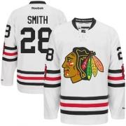 Ben Smith Chicago Blackhawks Reebok Men's Premier 2015 Winter Classic Jersey - White