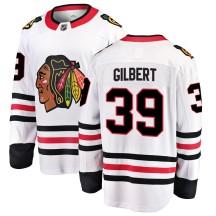 Dennis Gilbert Chicago Blackhawks Fanatics Branded Men's Breakaway Away Jersey - White