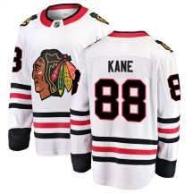 Patrick Kane Chicago Blackhawks Fanatics Branded Men's Breakaway Away Jersey - White