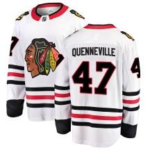 John Quenneville Chicago Blackhawks Fanatics Branded Men's ized Breakaway Away Jersey - White