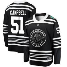 Brian Campbell Chicago Blackhawks Fanatics Branded Men's 2019 Winter Classic Breakaway Jersey - Black