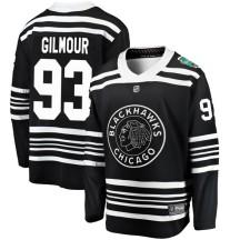 Doug Gilmour Chicago Blackhawks Fanatics Branded Men's 2019 Winter Classic Breakaway Jersey - Black