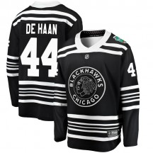 Calvin de Haan Chicago Blackhawks Fanatics Branded Men's 2019 Winter Classic Breakaway Jersey - Black