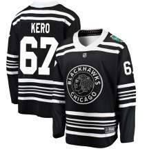 Tanner Kero Chicago Blackhawks Fanatics Branded Men's 2019 Winter Classic Breakaway Jersey - Black