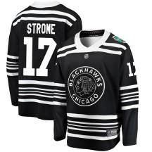 Dylan Strome Chicago Blackhawks Fanatics Branded Men's 2019 Winter Classic Breakaway Jersey - Black