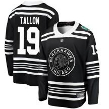 Dale Tallon Chicago Blackhawks Fanatics Branded Men's 2019 Winter Classic Breakaway Jersey - Black