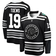 Jonathan Toews Chicago Blackhawks Fanatics Branded Men's 2019 Winter Classic Breakaway Jersey - Black