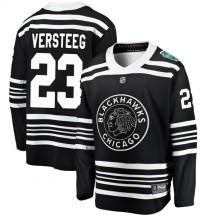 Kris Versteeg Chicago Blackhawks Fanatics Branded Men's 2019 Winter Classic Breakaway Jersey - Black