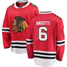 Lou Angotti Chicago Blackhawks Fanatics Branded Youth Breakaway Home Jersey - Red