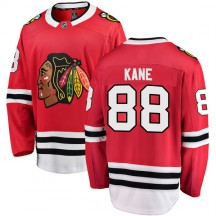 Patrick Kane Chicago Blackhawks Fanatics Branded Youth Breakaway Home Jersey - Red
