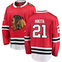 Stan Mikita Chicago Blackhawks Fanatics Branded Youth Breakaway Home Jersey - Red