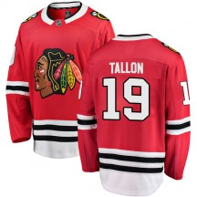 Dale Tallon Chicago Blackhawks Fanatics Branded Youth Breakaway Home Jersey - Red