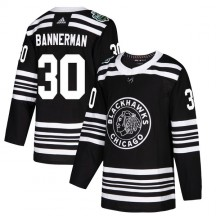 Murray Bannerman Chicago Blackhawks Adidas Men's Authentic 2019 Winter Classic Jersey - Black