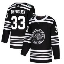 Dustin Byfuglien Chicago Blackhawks Adidas Men's Authentic 2019 Winter Classic Jersey - Black