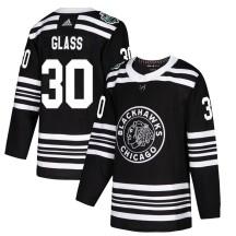 Jeff Glass Chicago Blackhawks Adidas Men's Authentic 2019 Winter Classic Jersey - Black