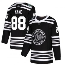 Patrick Kane Chicago Blackhawks Adidas Men's Authentic 2019 Winter Classic Jersey - Black