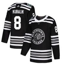 Dominik Kubalik Chicago Blackhawks Adidas Men's Authentic 2019 Winter Classic Jersey - Black