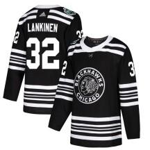 Kevin Lankinen Chicago Blackhawks Adidas Men's Authentic 2019 Winter Classic Jersey - Black