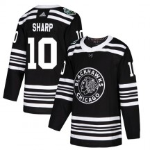 Patrick Sharp Chicago Blackhawks Adidas Men's Authentic 2019 Winter Classic Jersey - Black