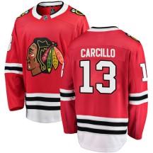 Daniel Carcillo Chicago Blackhawks Fanatics Branded Men's Breakaway Home Jersey - Red