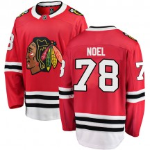 Nathan Noel Chicago Blackhawks Fanatics Branded Men's Breakaway Home Jersey - Red