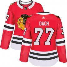 Kirby Dach Chicago Blackhawks Adidas Women's Authentic Home Jersey - Red