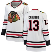 Daniel Carcillo Chicago Blackhawks Fanatics Branded Women's Breakaway Away Jersey - White