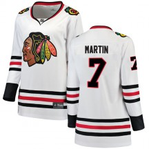 Pit Martin Chicago Blackhawks Fanatics Branded Women's Breakaway Away Jersey - White