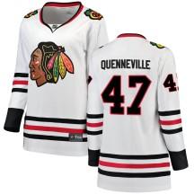 John Quenneville Chicago Blackhawks Fanatics Branded Women's ized Breakaway Away Jersey - White