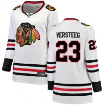 Kris Versteeg Chicago Blackhawks Fanatics Branded Women's Breakaway Away Jersey - White