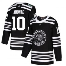 Tony Amonte Chicago Blackhawks Adidas Youth Authentic 2019 Winter Classic Jersey - Black