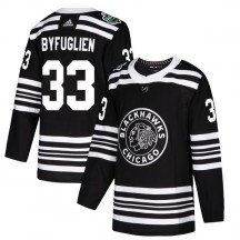 Dustin Byfuglien Chicago Blackhawks Adidas Youth Authentic 2019 Winter Classic Jersey - Black