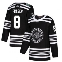 Curt Fraser Chicago Blackhawks Adidas Youth Authentic 2019 Winter Classic Jersey - Black