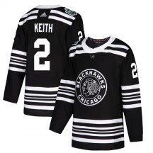 Duncan Keith Chicago Blackhawks Adidas Youth Authentic 2019 Winter Classic Jersey - Black