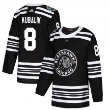 Dominik Kubalik Chicago Blackhawks Adidas Youth Authentic 2019 Winter Classic Jersey - Black