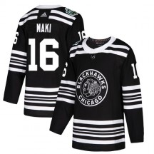 Chico Maki Chicago Blackhawks Adidas Youth Authentic 2019 Winter Classic Jersey - Black